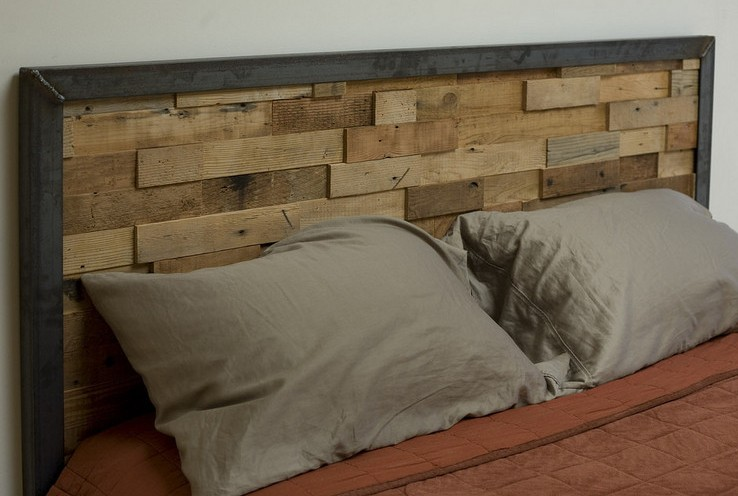 How To Make A Reclaimed Wood Headboard Frame Loom Plans