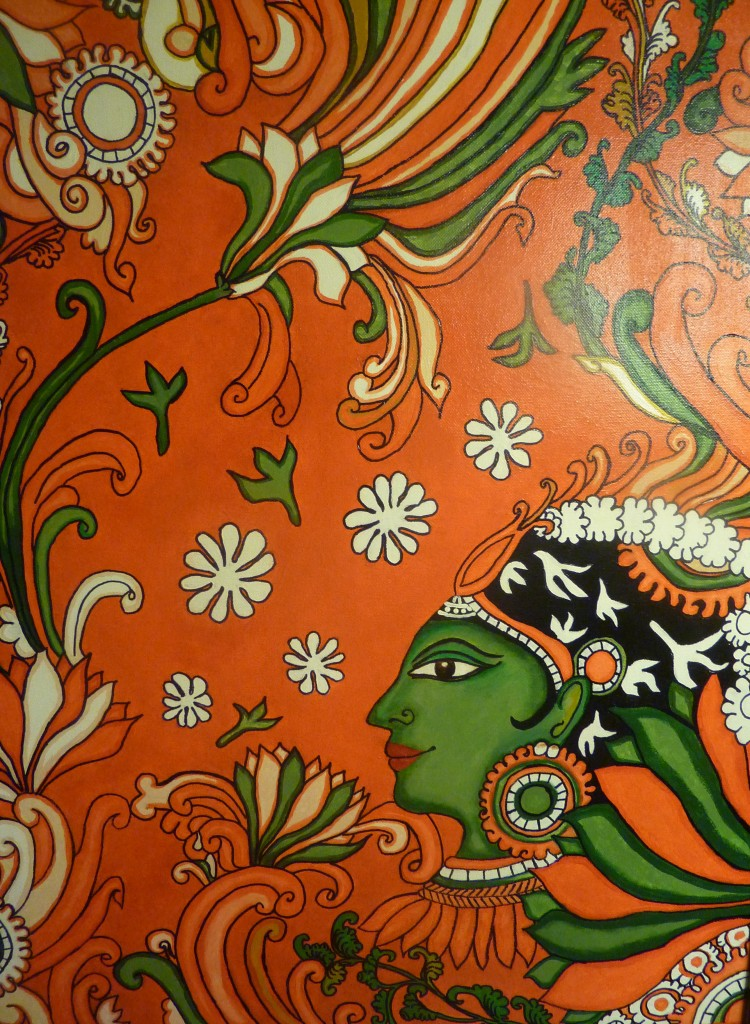 Kerala mural painting tutorial for the non painter for Art mural painting