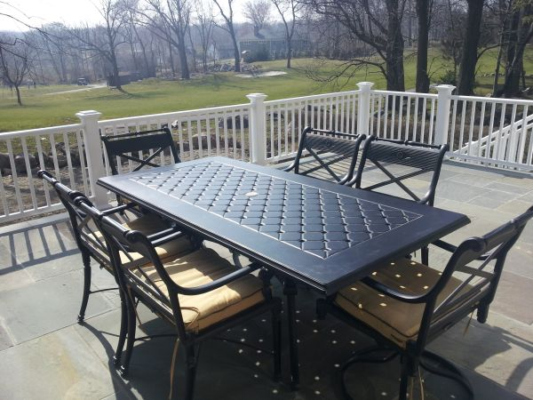 frontgate outdoor dining table - Craigslist Outdoor Christmas Decorations
