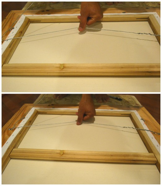 how to frame a canvas painting whats ur home story