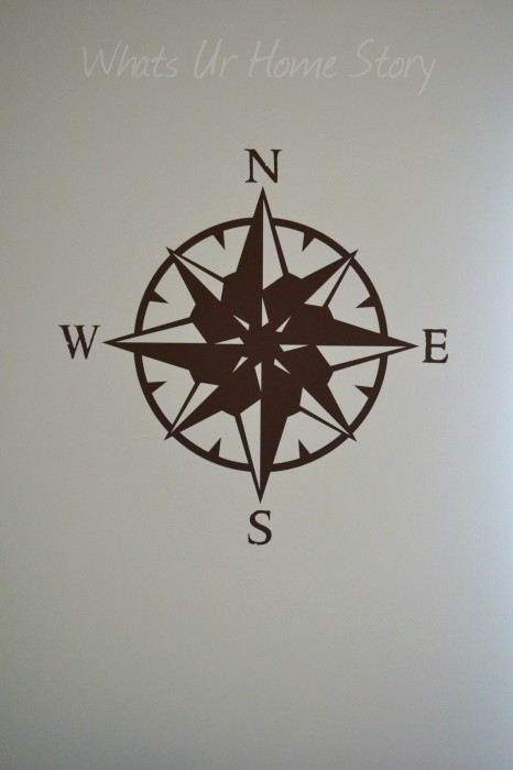 Whats Ur Home Story: Compass wall decal