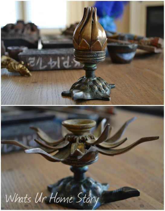Whats Ur Home Story: Antique candle holder, Indian candle holder