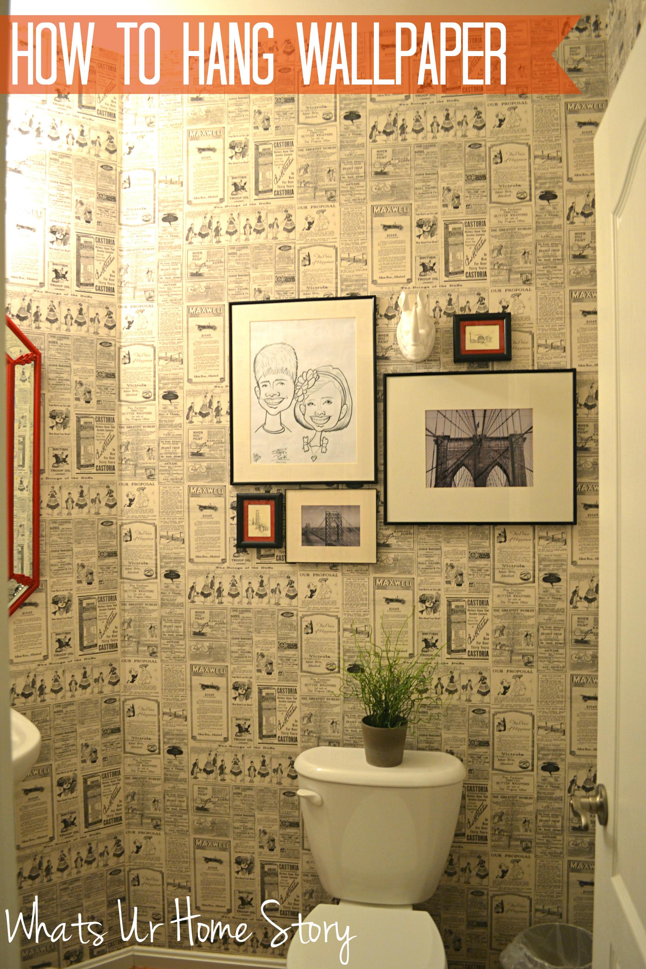 Hang Wall Paper