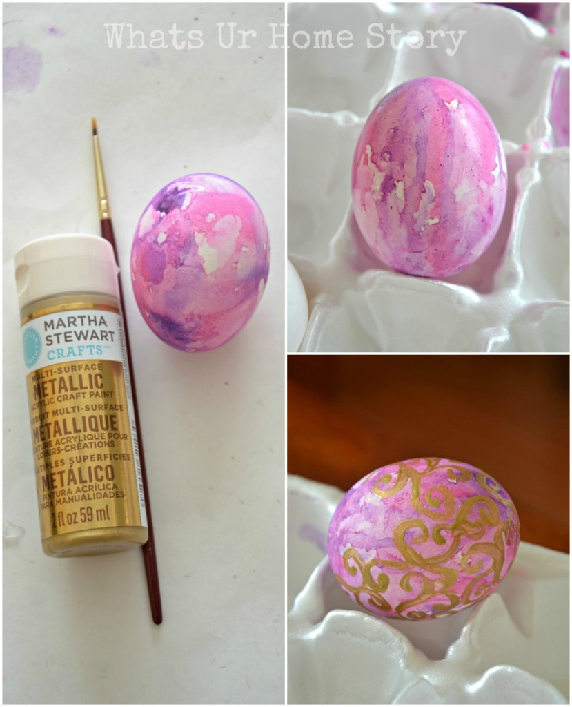 painted easter eggs, Watercolor Easter Eggs, how to make watercolor easter eggs, Watercolor easter eggs tutorial