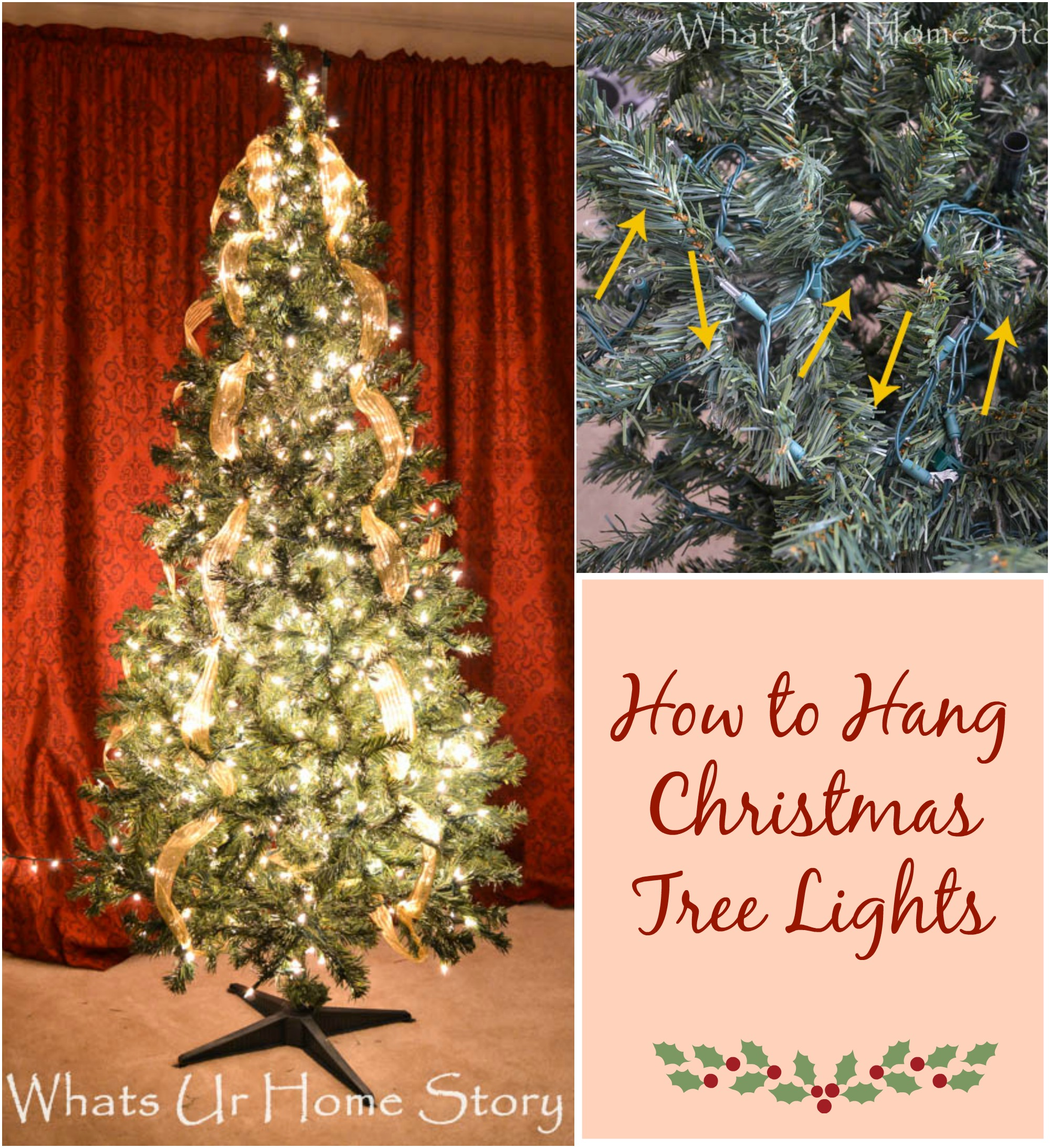How To Hang Christmas Tree
